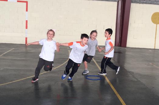 ¡Aprendiendo y disfrutando en las clases de Educación física! (1º ciclo EP)