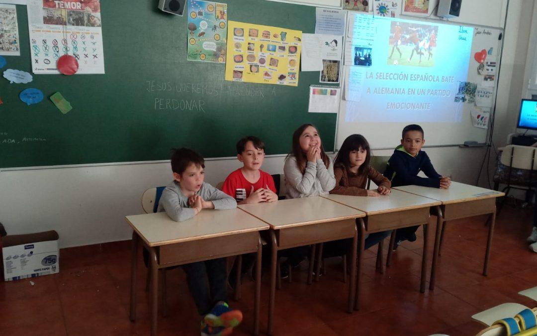 ¡El telediario de la Compasión Escolapios! (2º EP)