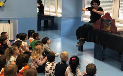 Nos visita Inés en Ed. Infantil (cuenta cuentos)