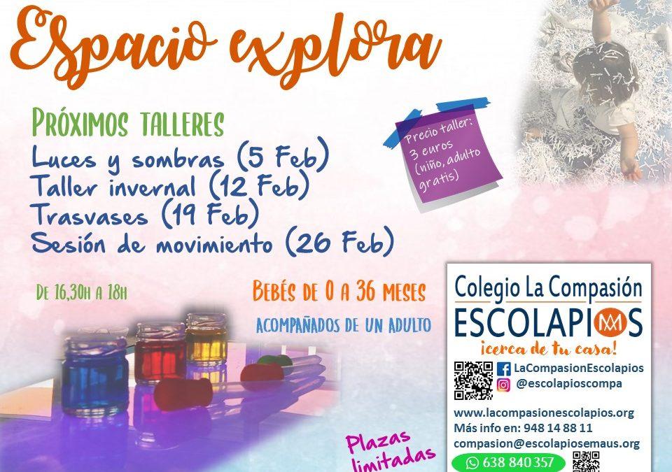 SESIONES EXPLORA FEBRERO