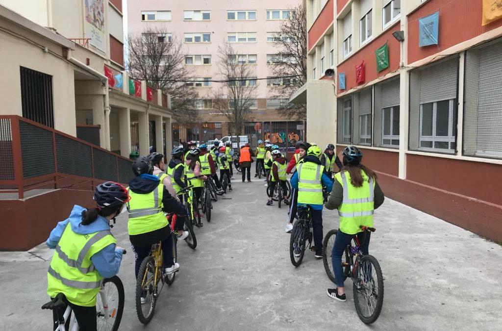¿Cómo andar en bici por la ciudad? (2º ESO)