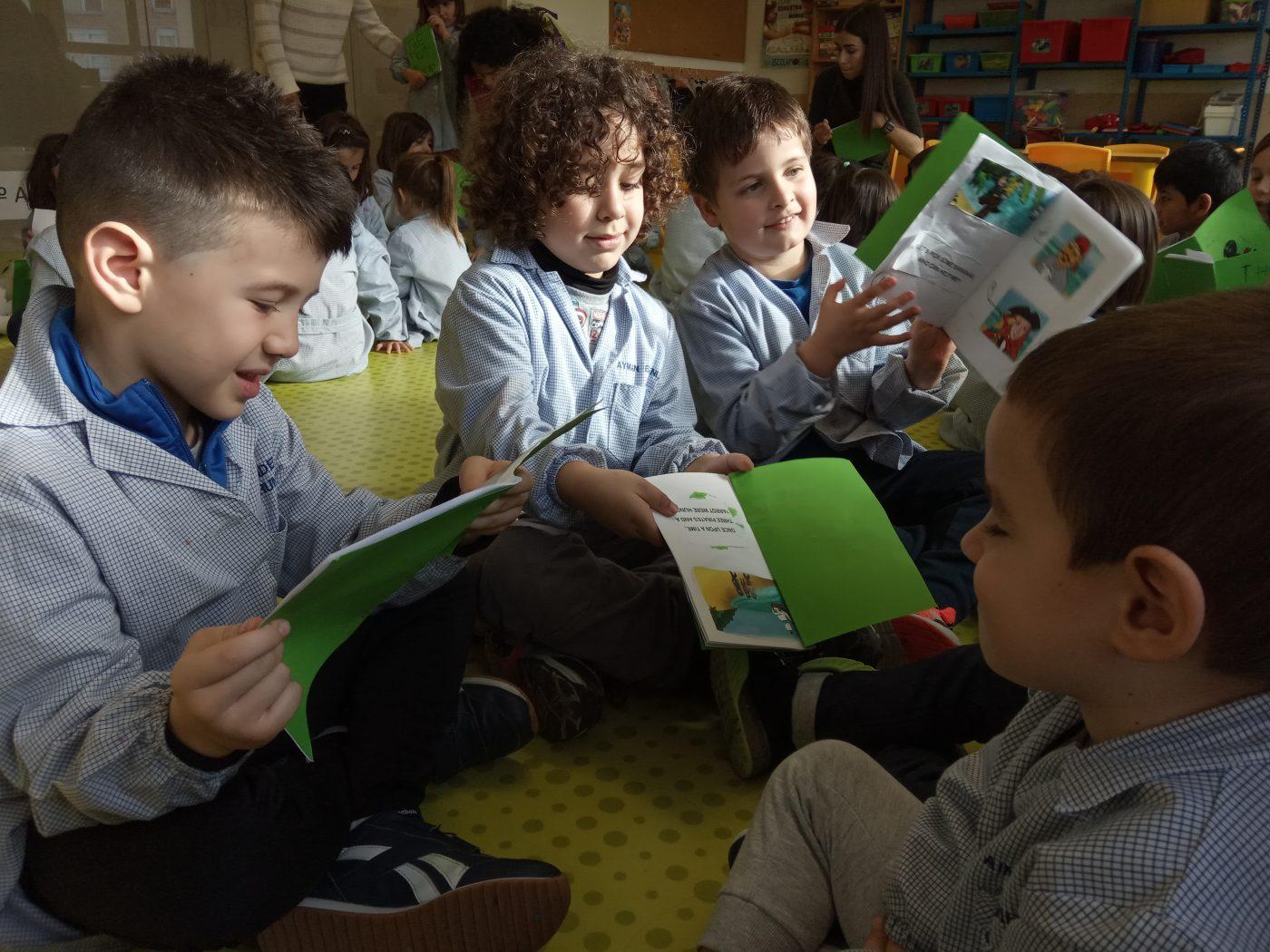 Sharing stories! (3º E.I-1ºE.I)
