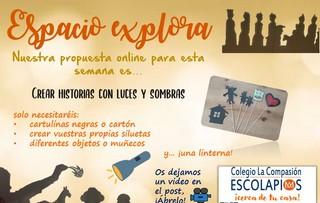 ESPACIO EXPLORA (Propuesta online)