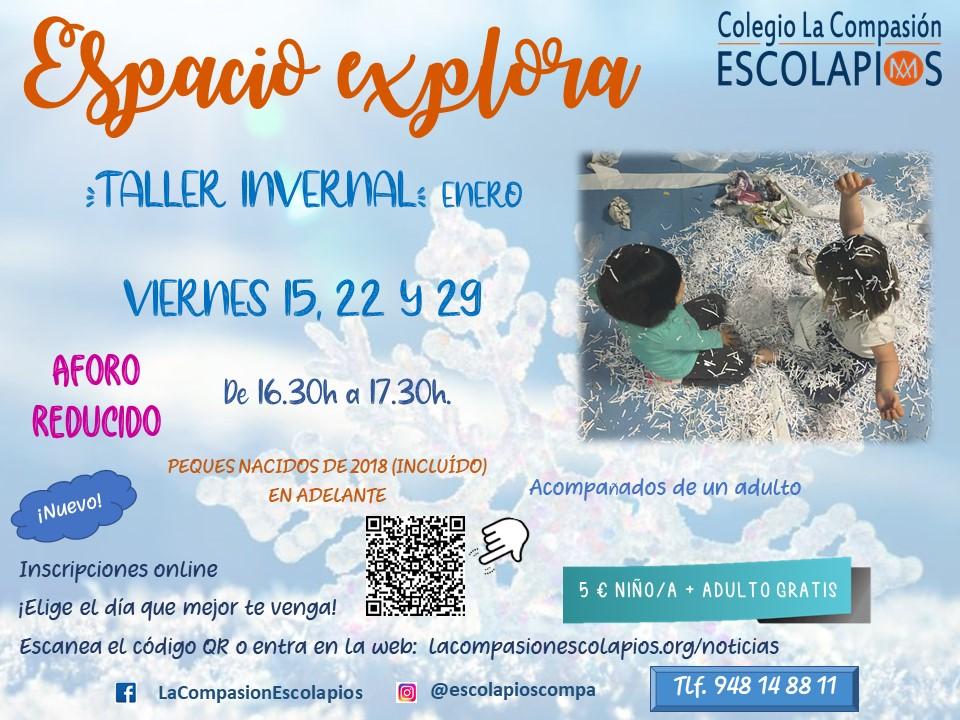 Espacio Explora (Sesiones de Enero)